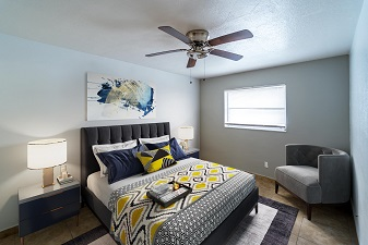 University Club apartments- bedroom