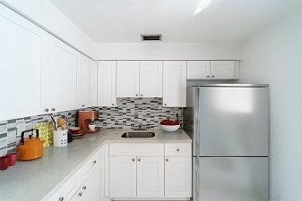 University Club apartments- kitchen